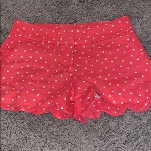 Crown & Ivy Polka Dot Shorts
